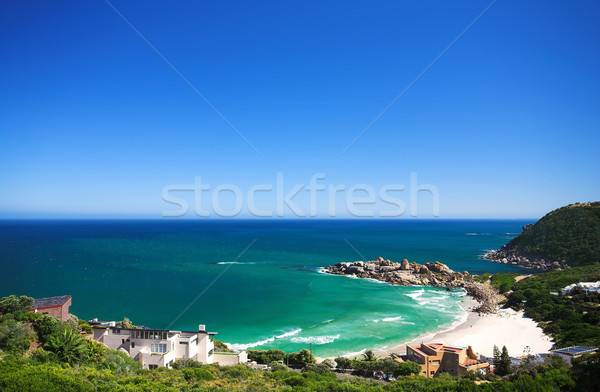 Playa popular surf terreno occidental Foto stock © Forgiss