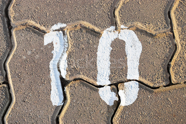 number 10 Stock photo © Forgiss