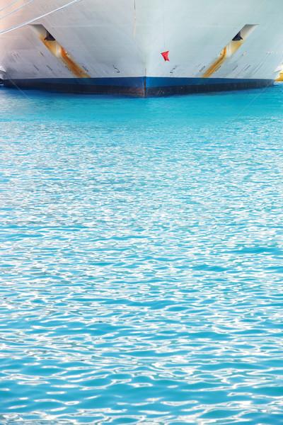 Holiday cruise liner Stock photo © Forgiss