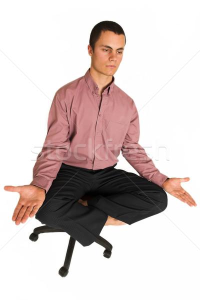 Business Yoga #185 Stock photo © Forgiss
