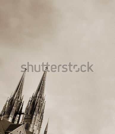 Spires of the Dom Stock photo © Forgiss