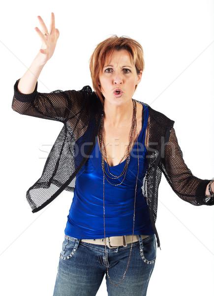 Beautiful adult woman Stock photo © Forgiss