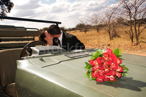 Bridal Couple #49 Stock photo © Forgiss