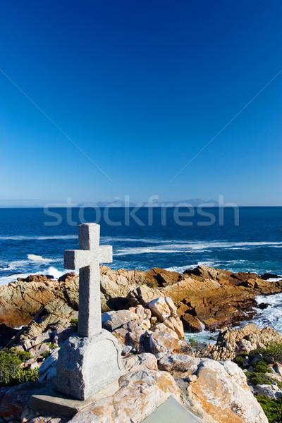 15 velho pedra grave forma atravessar Foto stock © Forgiss