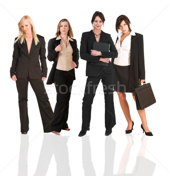 женщину группа молодые современных деловая женщина Сток-фото © Forgiss