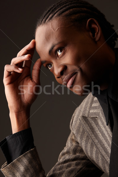 Black Businessman Stock photo © Forgiss