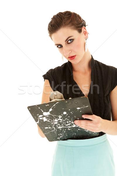 Zdjęcia stock: Kobieta · interesu · młodych · piękna · dorosły