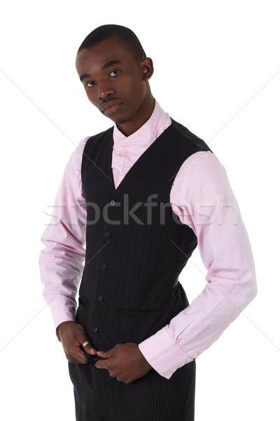 Black African businessman Stock photo © Forgiss