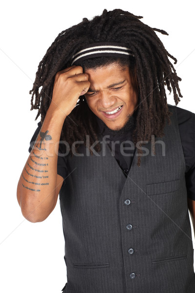 Stock photo: Handsome African businessman
