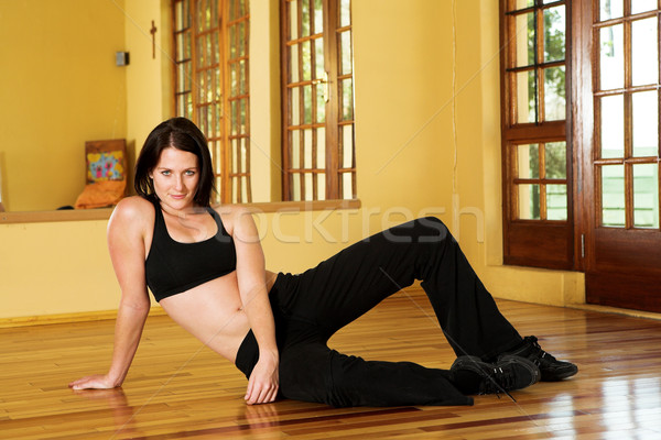 Сток-фото: танцовщицы · 20 · женщины · студию · женщину