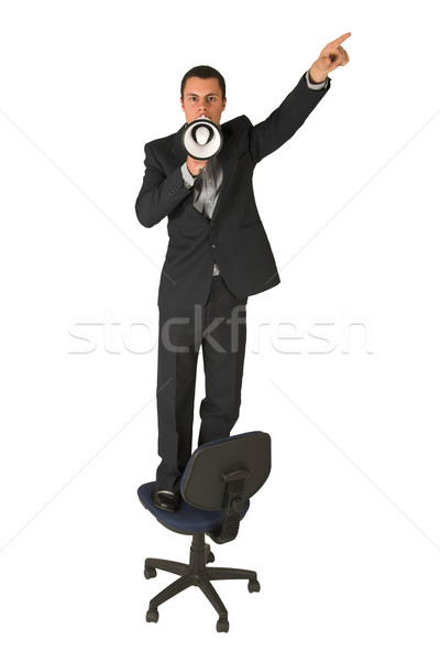 Businessman #240 Stock photo © Forgiss