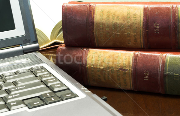Legal books #30 Stock photo © Forgiss