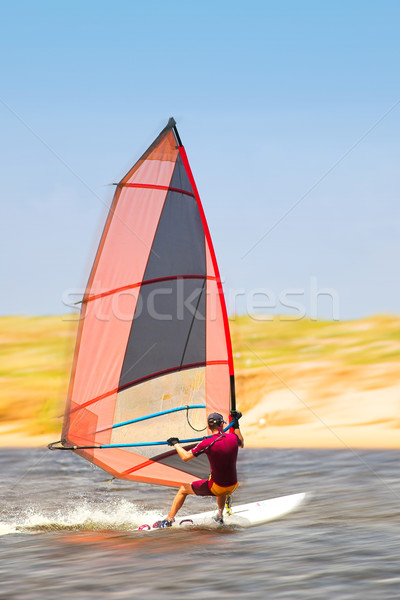 Windsurfer #33 Stock photo © Forgiss