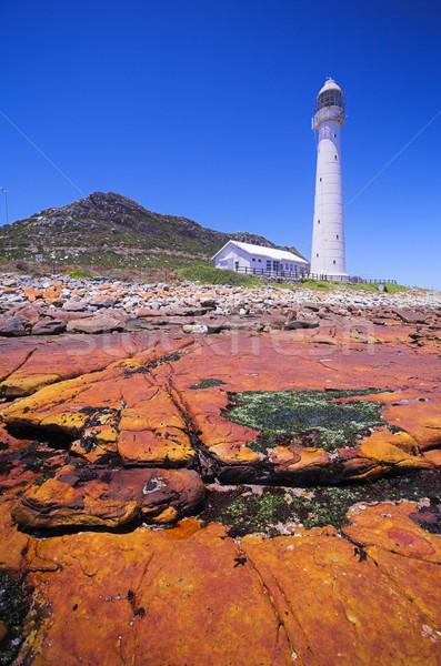 Slangkop Lighthouse Stock photo © Forgiss