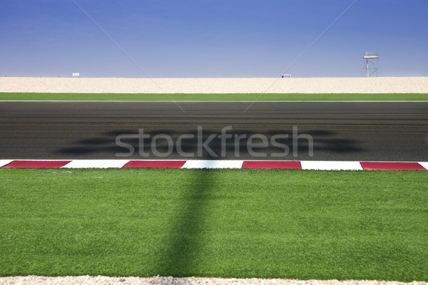 Stock photo: Lusail Race Track