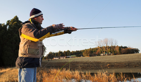 Flyfishing #18 Stock photo © Forgiss