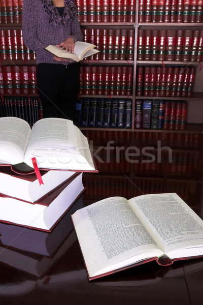Legal books #24 Stock photo © Forgiss