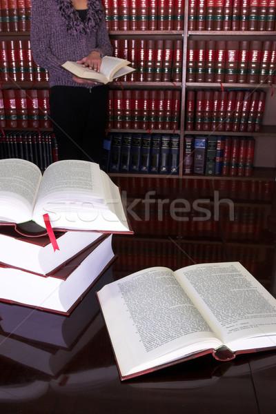 Stockfoto: Juridische · boeken · 24 · tabel · recht