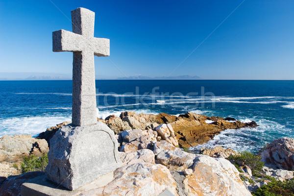 14 velho pedra grave forma atravessar Foto stock © Forgiss