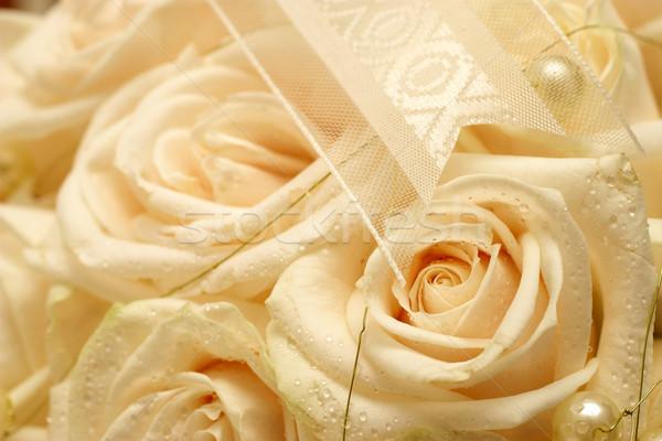 свадьба 19 роз мелкий Сток-фото © Forgiss