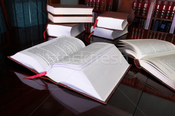 Legal books #7 Stock photo © Forgiss
