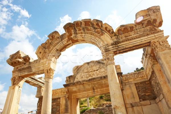 Hadrians Temple Stock photo © Forgiss
