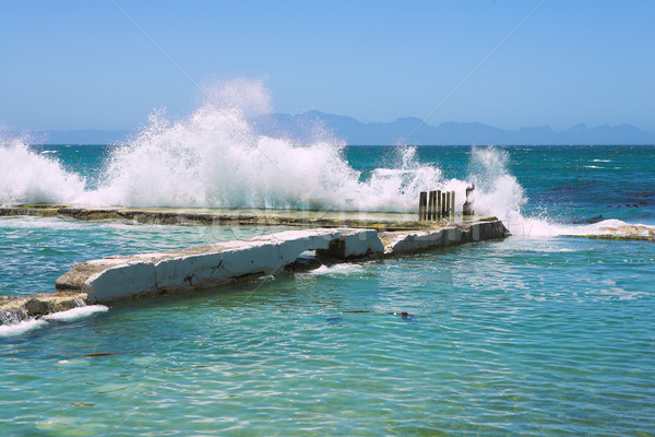 Wavebreak Stock photo © Forgiss