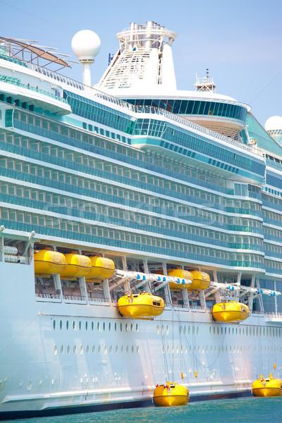 Vakantie cruise witte haven Turkije oceaan Stockfoto © Forgiss