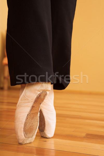 pointe shoes #05 Stock photo © Forgiss