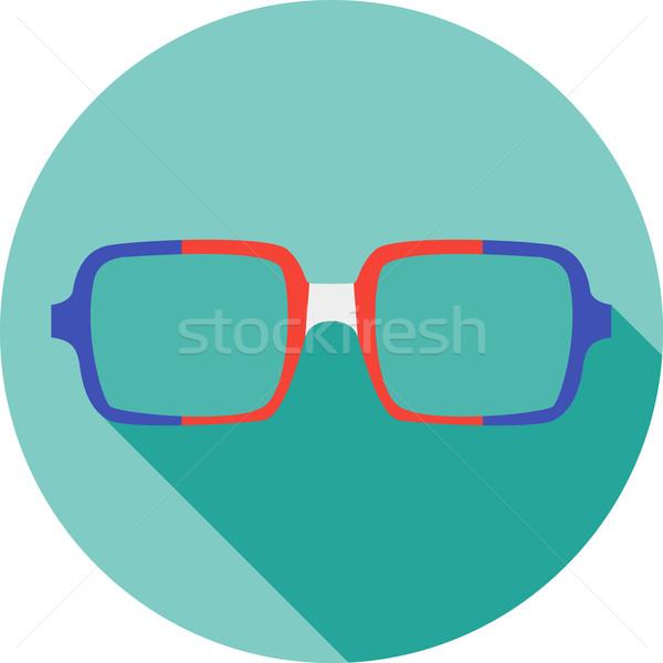 Maschera occhiali raccolta stile avatar Foto d'archivio © Fosin