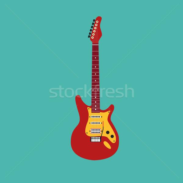 Electric guitar Stock photo © Fosin
