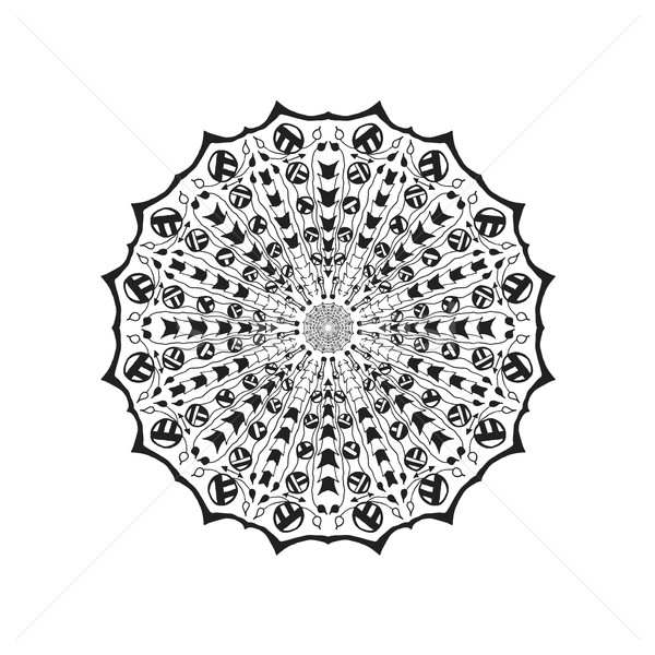 Mandala etnische abstract decoratief communie vintage Stockfoto © Fosin
