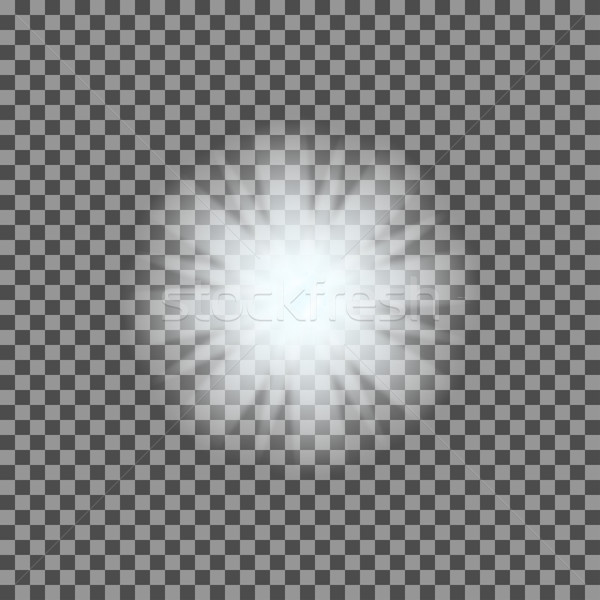 вектора свет прозрачный градиент звезды Сток-фото © Fosin