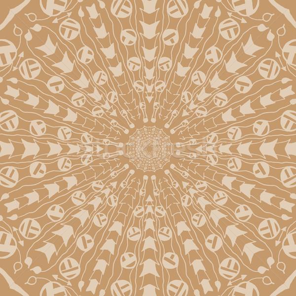 Mandala etnik soyut dekoratif Stok fotoğraf © Fosin