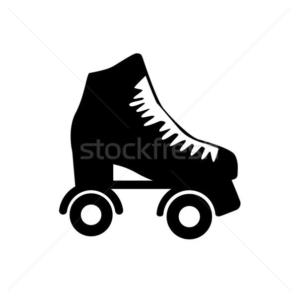 roller skate Stock photo © Fosin
