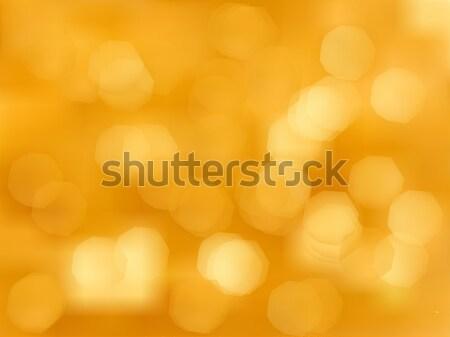 Soyut altın tatil bokeh etki Stok fotoğraf © Fosin
