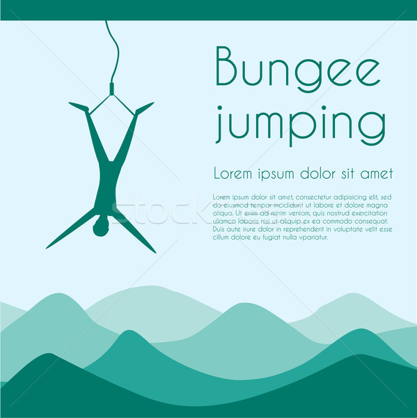 Bungee jumping Stock photo © Fosin