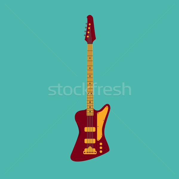 低音 ギター スタイル デザイン ボディ 橋 ストックフォト © Fosin