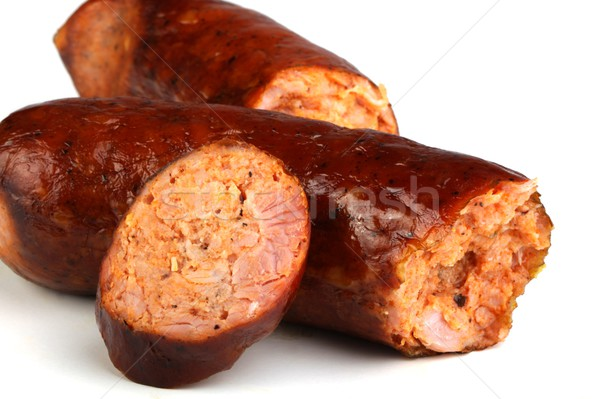 Stock photo: sausage