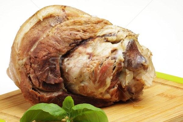 boiled pork knuckle Stock photo © Fotaw
