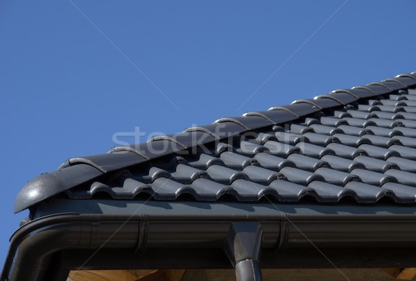 black roof Stock photo © Fotaw
