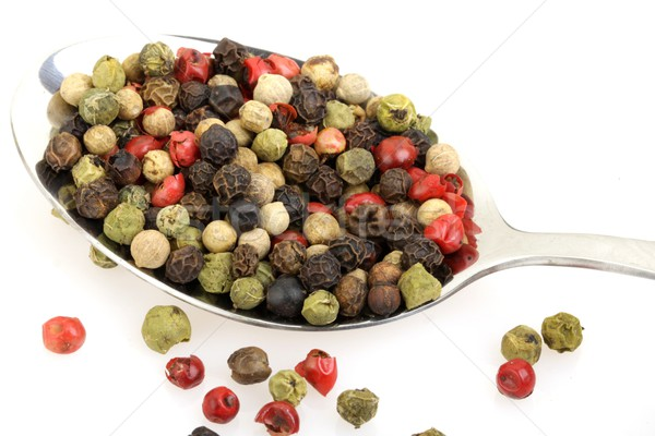 Stock photo: colorful pepper