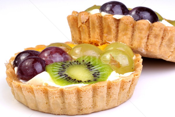 shortbread cake with fruit Stock photo © Fotaw
