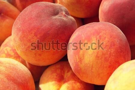 Stock photo: peaches