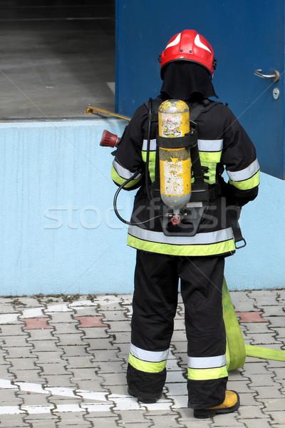 firefighter Stock photo © Fotaw