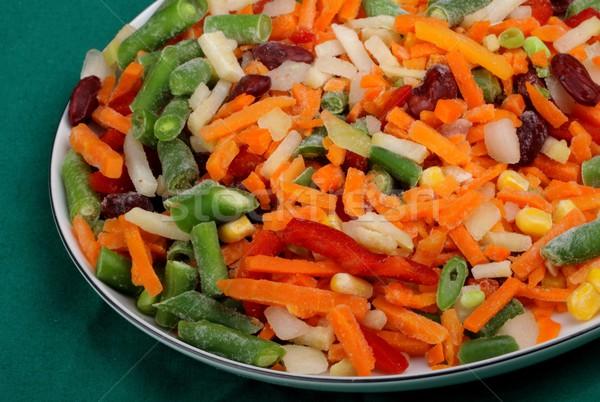 frozen vegetables Stock photo © Fotaw
