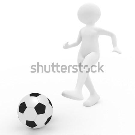 footballer Stock photo © fotoaloja