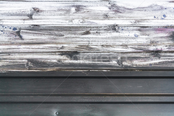 Surface sheet metal painted white paint background Stock photo © fotoaloja