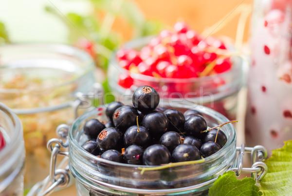 Preparazione prodotti fresche colorato estate frutti Foto d'archivio © fotoaloja