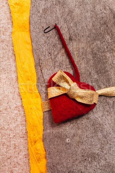 Валентин сердце текстуры свадьба аннотация рождения Сток-фото © fotoaloja